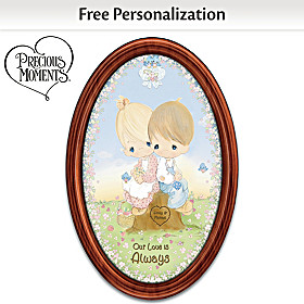 Our Love Is Always Personalized Collector Plate