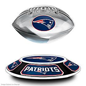 New England Patriots Levitating Football Sculpture