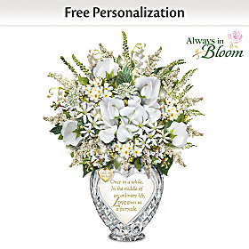 Everlasting Love Personalized Table Centerpiece