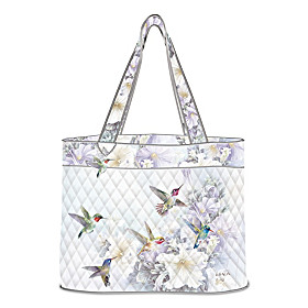 Lena Liu Garden Treasures Tote Bag