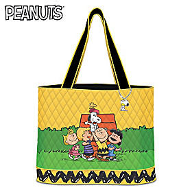Hooray For Friends! PEANUTS Tote Bag