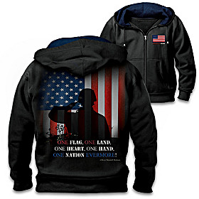 One Nation Men's Hoodie