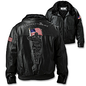 Salute To Freedom Men's Jacket