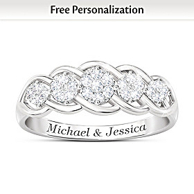 Love Of A Lifetime Personalized Diamond Ring
