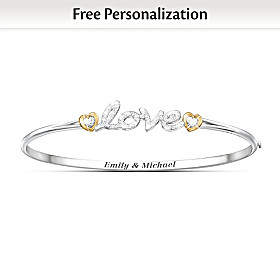 Together In Love Personalized Bracelet