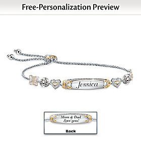 Precious Daughter Personalized Bracelet