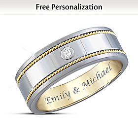 Strength Of Our Love Personalized Ring
