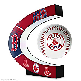 Boston Red Sox Levitating Baseball Sculpture
