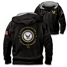 Proud To Serve U.S. Navy Men's Hoodie