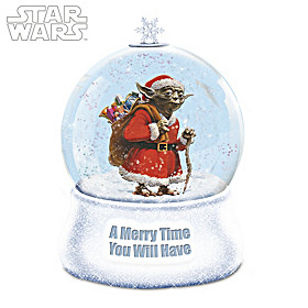 A Merry Time You Will Have Glitter Globe