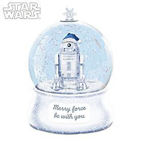 May The Force Be With You Glitter Globe