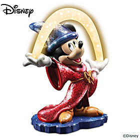 Disney Fantasia Glass Mosaic Masterpiece Sculpture