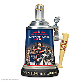 Boston Red Sox 2018 World Series Champions Stein