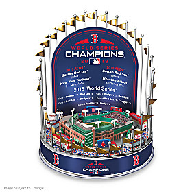 Boston Red Sox 2018 World Series Champions Carousel