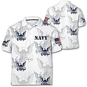 Navy Pride Men's Shirt