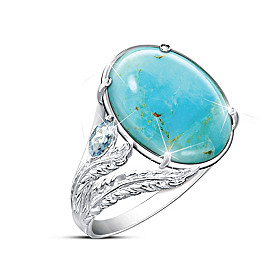 Turquoise Oasis Ring