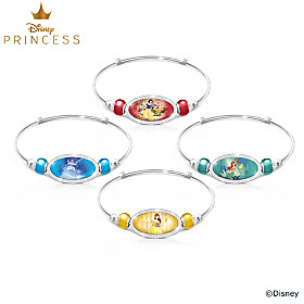 Disney Princess Be Strong And True Bracelet Set