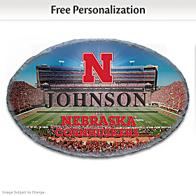 University Of Nebraska Personalized Welcome Sign