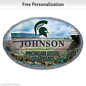 Michigan State University Personalized Welcome Sign