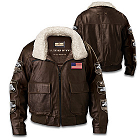 America's Legendary Tanks Of WWII Men's Jacket