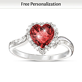 The Heart Of You Personalized Ring