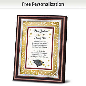 Dear Graduate Personalized Poem Frame