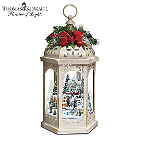 Thomas Kinkade Winter Wonderful Lantern