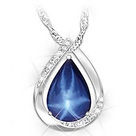 Heavenly Light Pendant Necklace