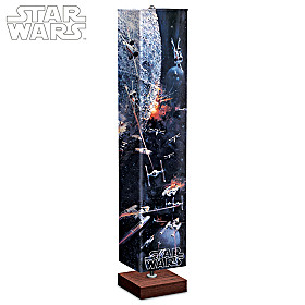 Battle Of The Death Star Floor Lamp