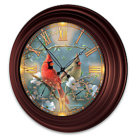 Nature's Masterpiece Wall Clock