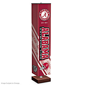 University Of Alabama Crimson Tide Floor Lamp