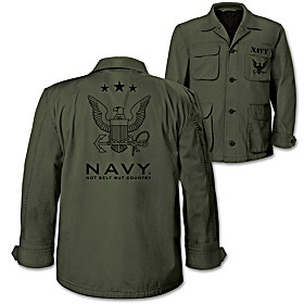 Navy Men's Field Jacket