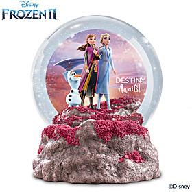 Disney FROZEN 2 Destiny Awaits Glitter Globe