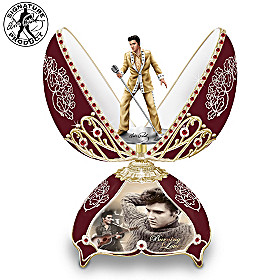 Elvis In Concert Music Box