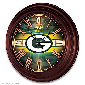 Green Bay Packers Wall Clock