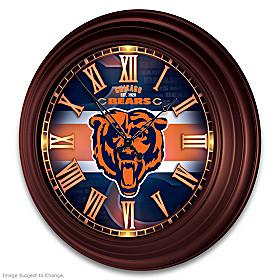 Chicago Bears Wall Clock