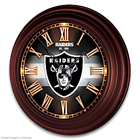 Las Vegas Raiders Wall Clock