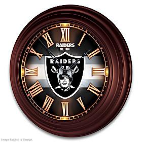 Las Vegas Raiders Wall Clock