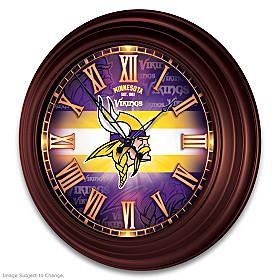 Minnesota Vikings Wall Clock