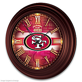 San Francisco 49ers Wall Clock