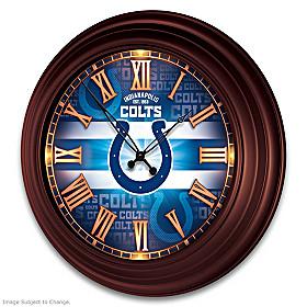 Indianapolis Colts Wall Clock