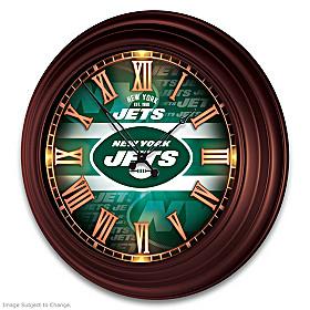 New York Jets Wall Clock