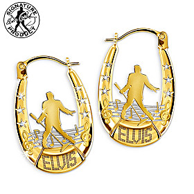 Spotlight Elvis Presley Earrings