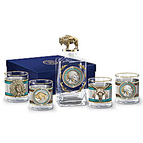 Pride Of The West Decanter Set
