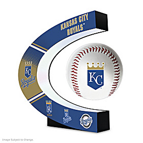 Kansas City Royals Levitating Baseball Sculpture