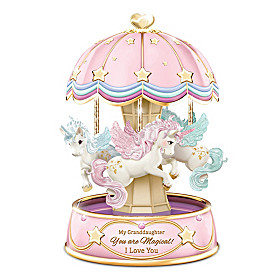 My Granddaughter, You Are Magical Musical Carousel