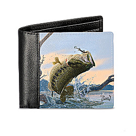 Bass Fishing Wallet