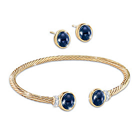 Royal Sussex Bracelet And Earrings Set