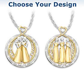 Strength In Sisterhood Pendant Necklace