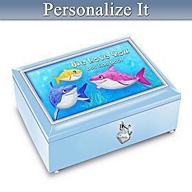 Baby Shark Personalized Music Box